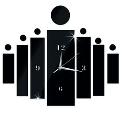 Wall clock sticking as a DIY HOJOKER gift l 3D hours