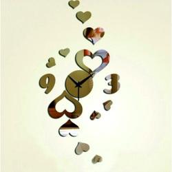 Modern wall clock FAMILY clock on wall
