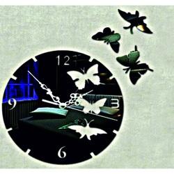 Butterfly wall clock (butterfly clock on wall) DIANA