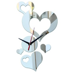 Clock on the wall of the heart (wall clock heart) 35x50 cm TOPSTEL