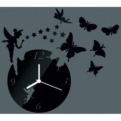 Modern wall clock to the living room, 30x30 cm