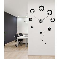 Wall clocks large circles DIY SVARCBACH