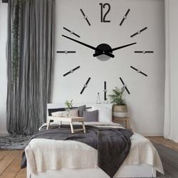 Modern wall clock sticking SOFIA XXL DIY sticker