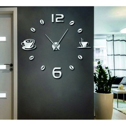 Wall Clock Wall Sticker DIY RUBINA