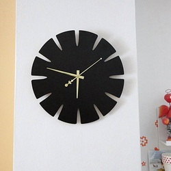 Wooden Wall Clock from HDF SPECTRA