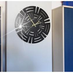 Wall clock luxury, desing clock on CUNA wall