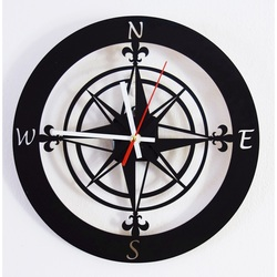 Wall clock of the world side GUALD