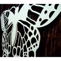 XLL 1100 X 647 mm Nočný motýľ  vyrezávaný z drevenej preglejky LEOPARTID