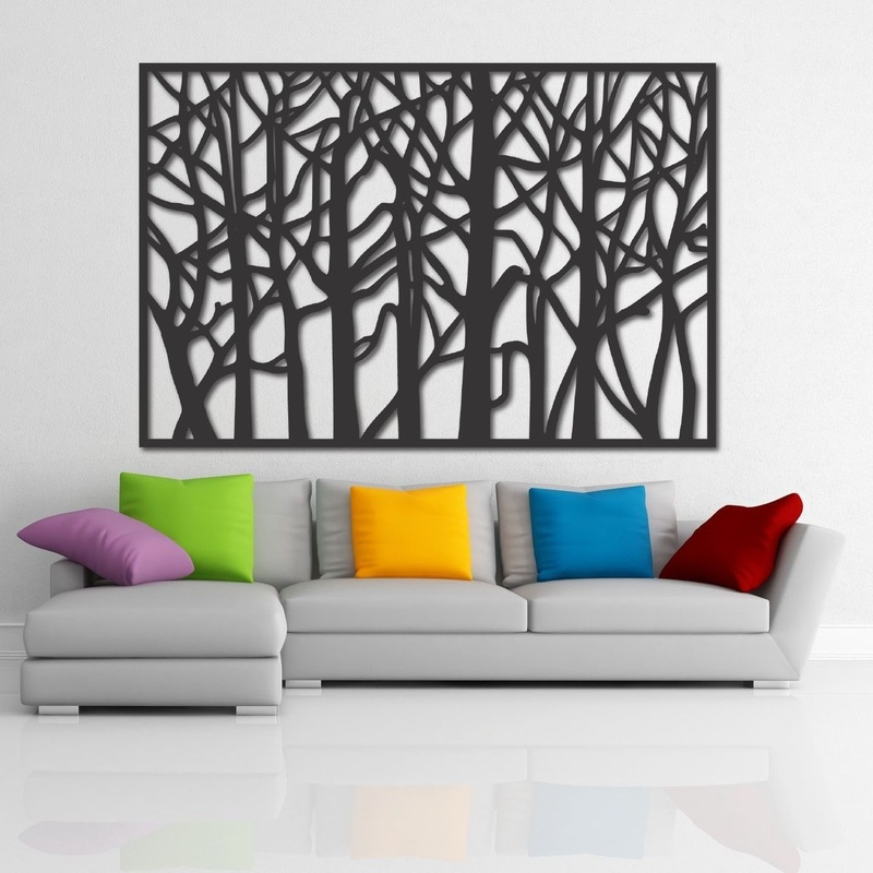 Wall painting of wooden plywood HOREHOR