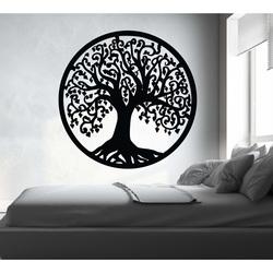Wall painting tree made of wood poplar plywood JOY
