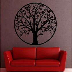 Wall painting tree made of wood poplar plywood POHODAK
