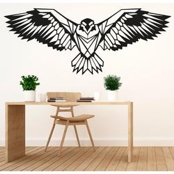 SENTOP carved wooden image of an eagle PR0233 black
