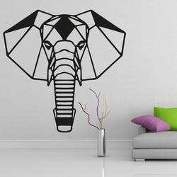 XMOMO Carved wall painting elephant PR0237 black