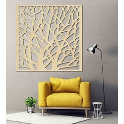 Carved Wooden Wall Image from plywood BELOON