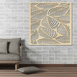 Carved Wooden Wall Image from plywood ORKO